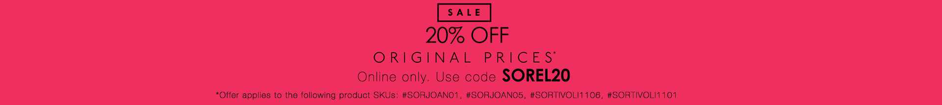Sorel Clearance (Online ONLY)