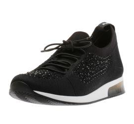 Lyssa Black Sparkle Sneaker