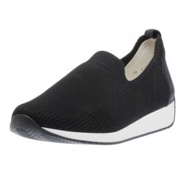 Leena Navy Slip-On Sneaker