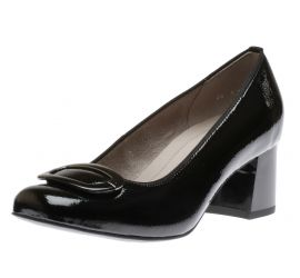 Bebe Black Patent Pump