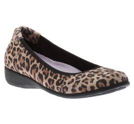 Abbey Leopard Print Ballet Flat