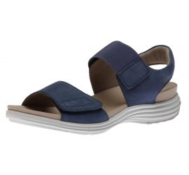 Beaumont Two Strap Blue Sandal