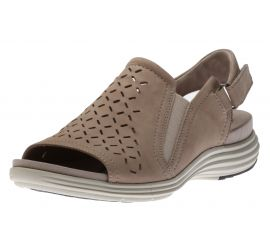 Beaumont Dove Peep Sling Sandal