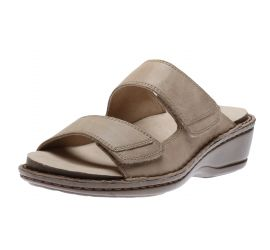 Cambridge 2 Strap Dove Slide Sandal