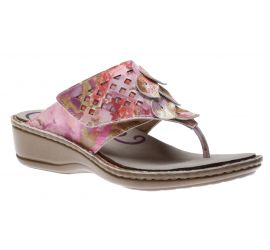 Cambridge Pink/Floral Thong Sandal