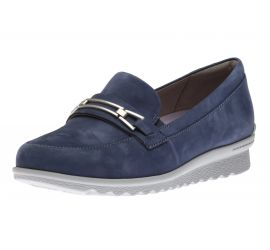 Josie Bit Blue Loafer