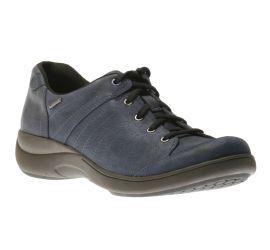 Rev Stridarc Waterproof Savor Navy Lace-Up Sneaker