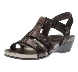 Standon Black T-Bar Sandal