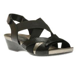Standon X Strap Black Sandal
