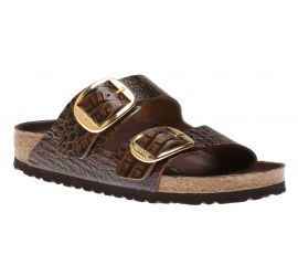 Arizona Big Buckle Brown Croc