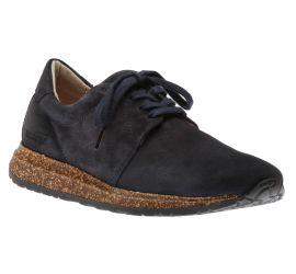 Wrigley Navy Suede Sneaker