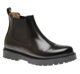Stalon Natural Leather Black Boot