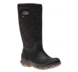 Whiteout Fleck Black Women's Insulated Boot