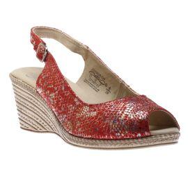 Sandal Red Reptile