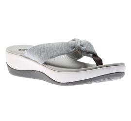 Arla Glison Grey Thong Sandal