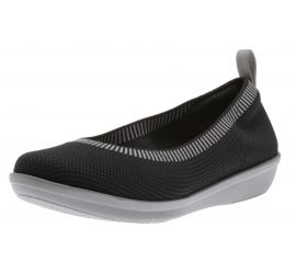 Ayla Paige Slip-On Black Flats