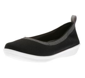 Ayla Paige Black Slip-On Flat