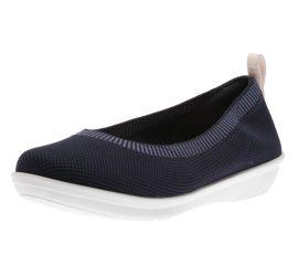 Ayla Paige Navy Slip-On Flats