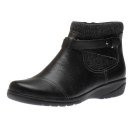 Cheyn Kisha Black Ankle Boots