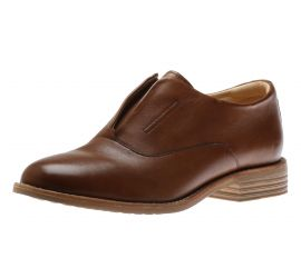 Edenvale Opal Tan Leather Oxford