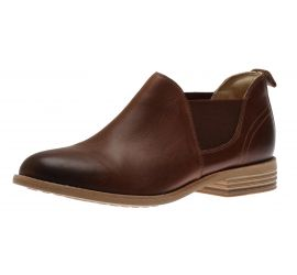 Edenvale Paige Tan Leather Low-Cut Boot
