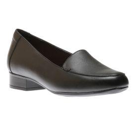Juliet Lora Black Leather Loafer