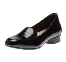 Juliet Lora Black Patent Loafer