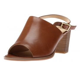 Kaylin60 Sling Tan Leather Heeled Leather