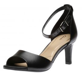 Laureti Grace Black Heeled Sandal