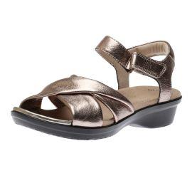 Loomis Chloe Metallic Leather Sandal