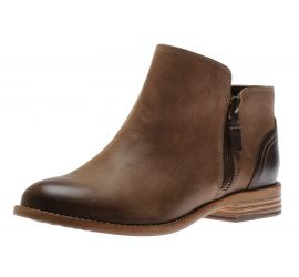 Maypearl Juno Brown Leather Ankle Boot