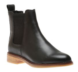 Clarkdale Arlo Black Leather Chelsea Boot