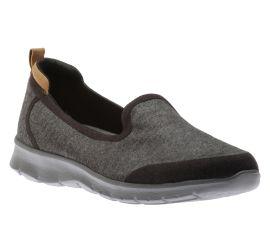 Step Allena Lo Black Slip-On Sneaker
