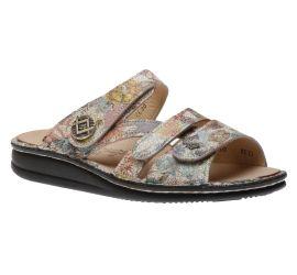 Agueda Multi Verano Leather Slide Sandal
