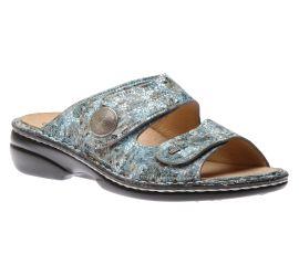 Sansibar Aqua Zamo Leather Sandal