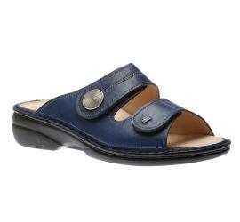 Sansibar Blue Leather Sandal