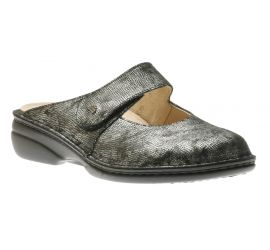 Stanford Bronze Leather Clog