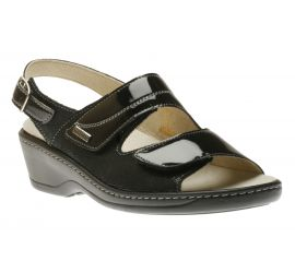 Sandal Velcro Black