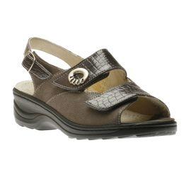 Sandal Velcro Anthra