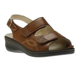 Sandal 2 Velcro Tan