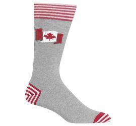 Hotsox Canadian Flag Greyh