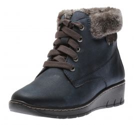 Boot Lace Navy