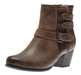 Boot Zipper Taupe