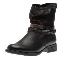 Boot Zipper Black