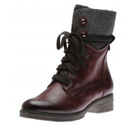 Boot lace Bordeaux