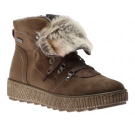 Boot Lace Fur Olive