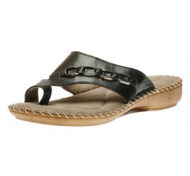 Toe Thong Black