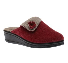 ladies Clog Bordo