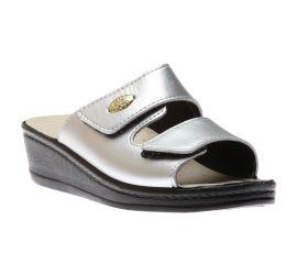 Sandal Velcro Pewter