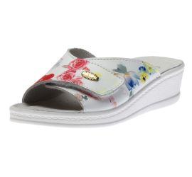 Sandal Velcro White